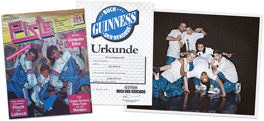 Unique Rockers, Guinness Record, and Aktuel Force
